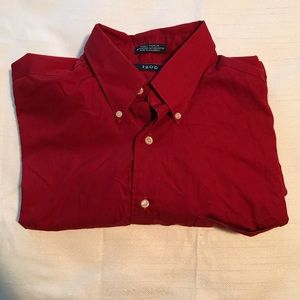 Izod Mens Button Up Long Sleeve Shirt Size 16 NWOT